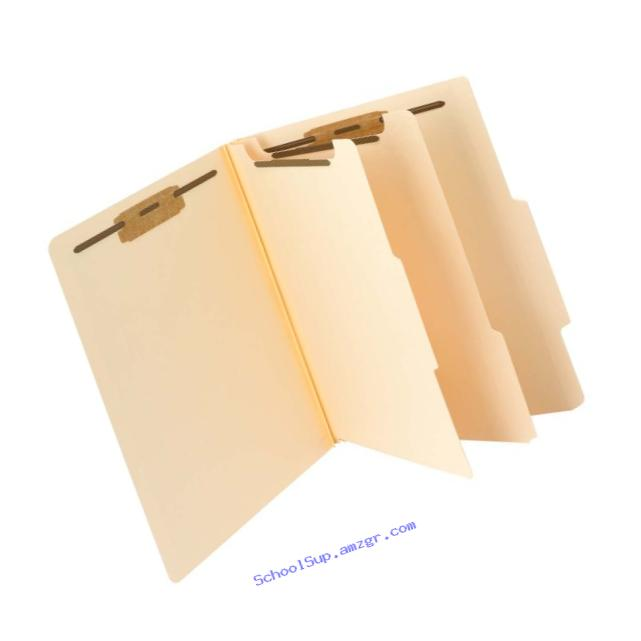 Smead Classification File Folder, 2 Divider, 2