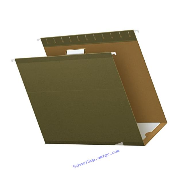 Pendaflex Hanging Box Bottom Folder, Standard Green, Letter, 25 per Box (04152X4)