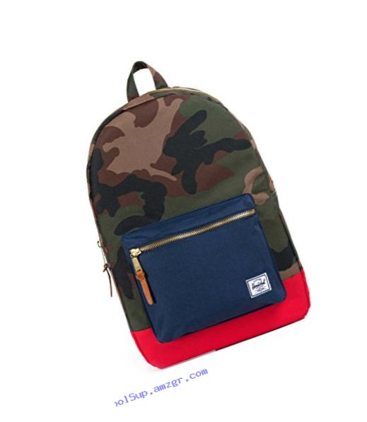 Herschel Supply Co. Settlement, Woodland Camo/Navy/Red, One Size