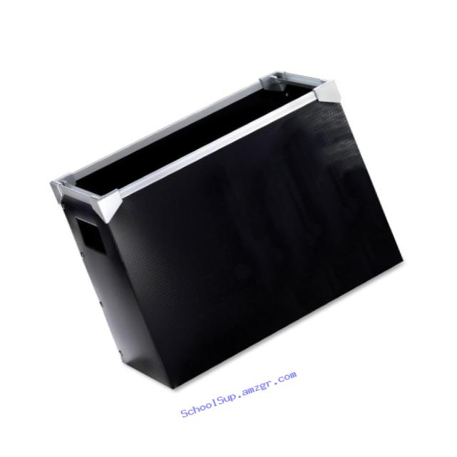 Pendaflex Poly Desktop File Box, Black, 1 Each (1151)