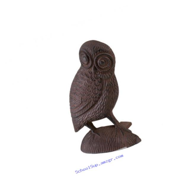 Koolekoo Owl Door Stopper - Cast Iron Door Stop