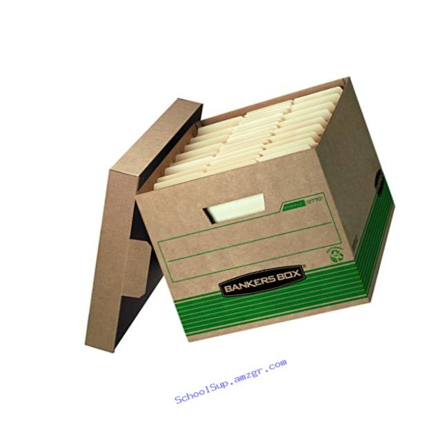 Bankers Box Recycled Stor/File Medium-Duty Storage Boxes, Letter/Legal, 20-Pack, 1277008