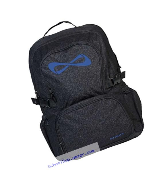 Nfinity Backpack, Sparkle Black/Royal
