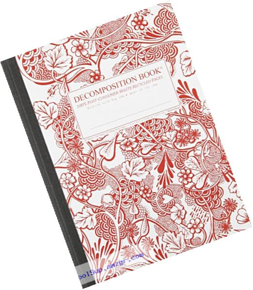 Wild Garden Decomposition Book: College-Ruled Composition Notebook With 100% Post-Consumer-Waste Recycled Pages